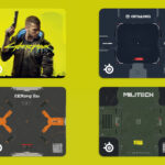 SteelSeries QcK Large Cyberpunk 2077 Limited Edition Mousepad
