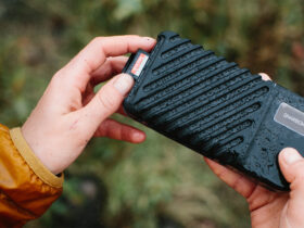 GNARBOX 2.0 SSD is a rugged backup device for pros that does not fear water and dust