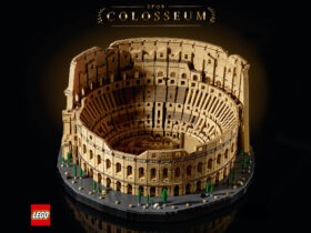 The Colosseum is the largest official LEGO set ever made for brick pros