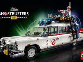 LEGO Ghostbusters Ecto-1 car kit to the delight of the eighties' children