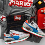 Super Mario and Nintendo NES footwear collection for video gamers by PUMA