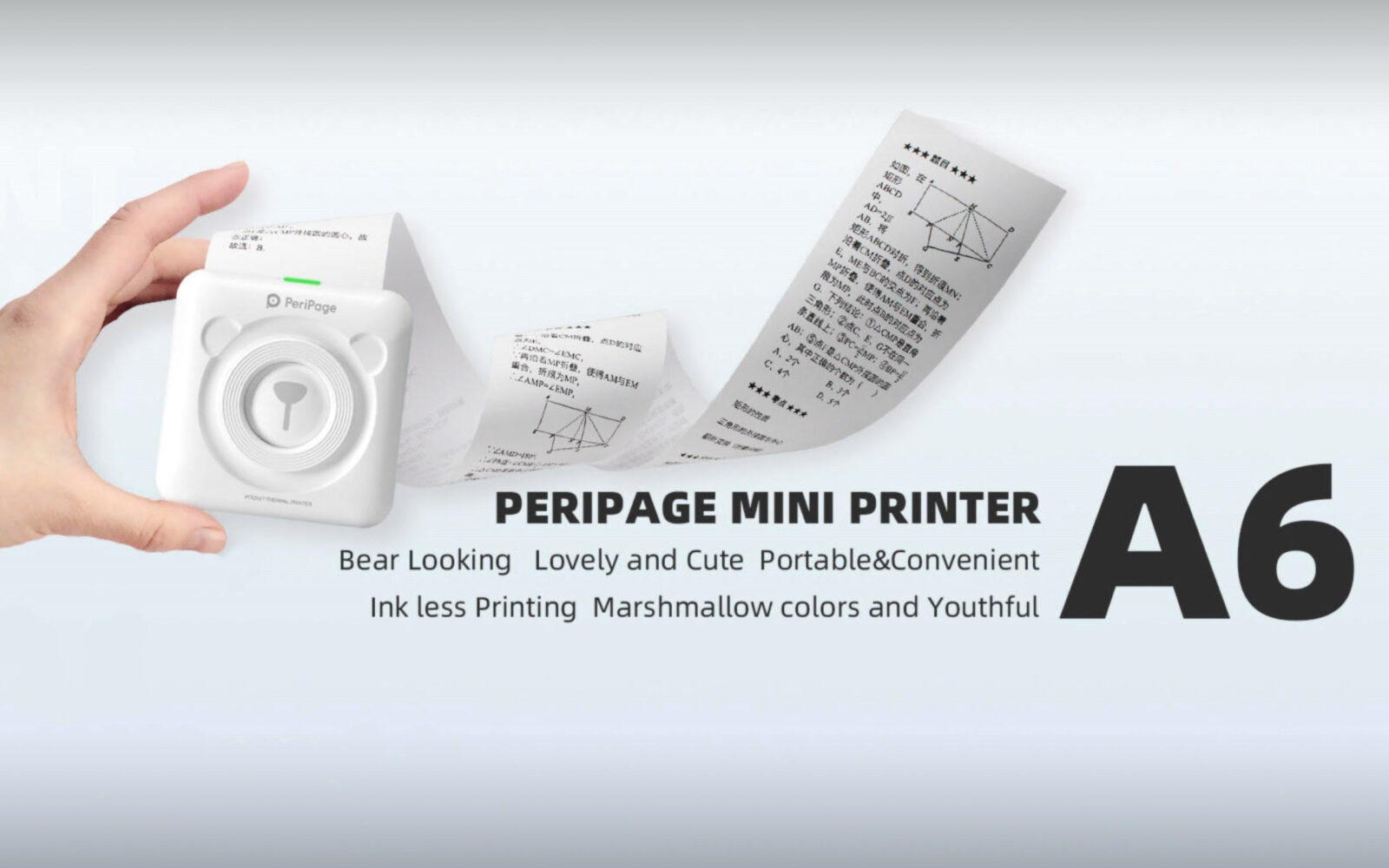 Even if you don't know yet, a pocket thermal printer is what you need