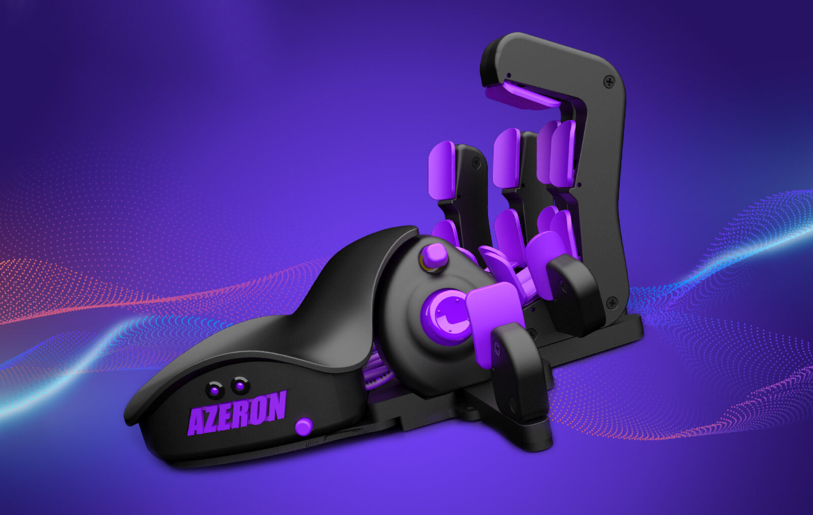 A totally new game experience with an unrivaled ergonomics and speed