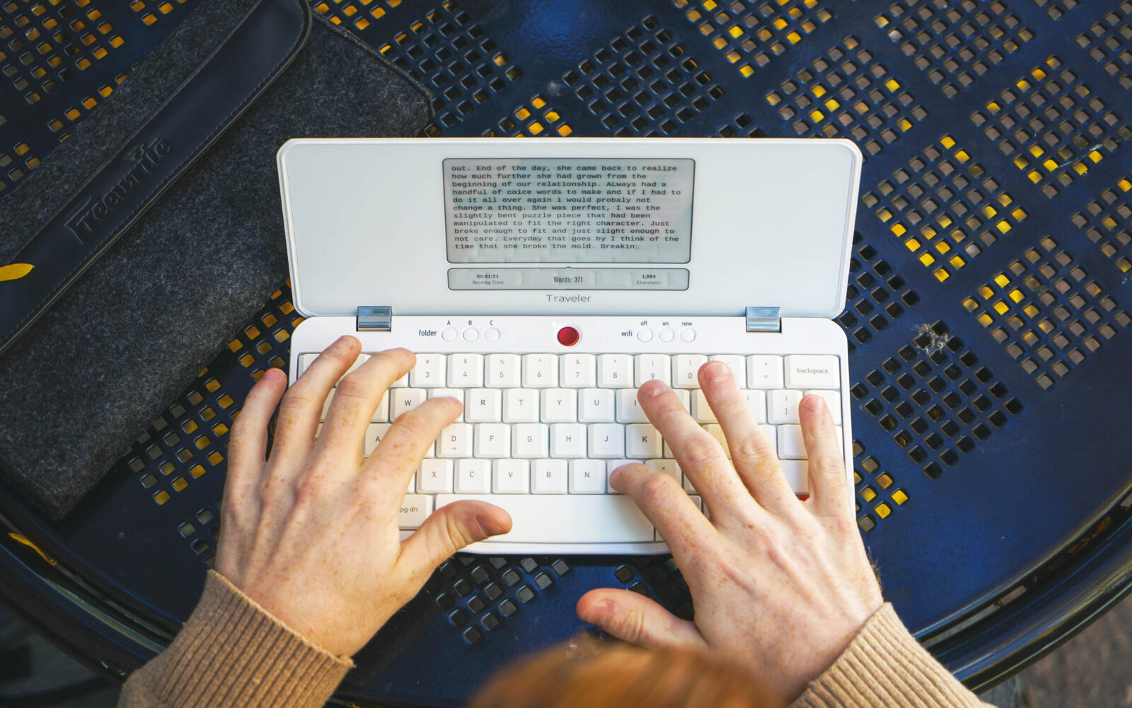 Turn off distractions and focus your thoughts with Freewrite Traveler