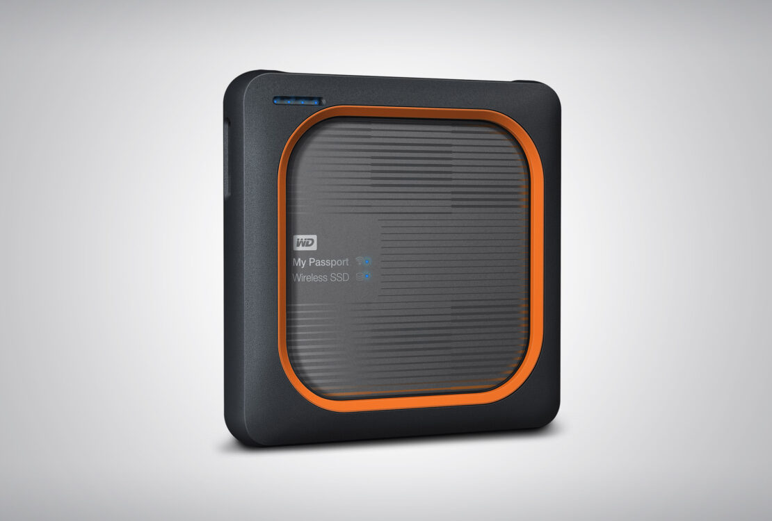 My Passport Wireless SSD is a durable and shock-resistant drive for pros