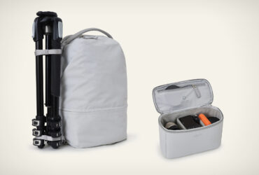 Arkose Modular Camera Backpack is a weatherproof, eco friendly and elegant solution