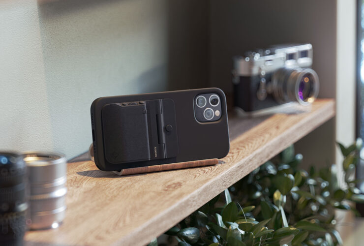 Fjorden reinvents iPhone photography with a DSLR-like grip