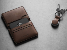 NOMAD Card for AirTag set wallet tracking in a tidy and elegant way