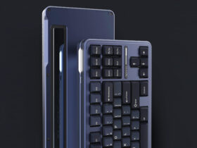 Space80: Apollo, a mechanical keyboard inspired by space exploration